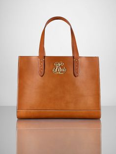 Vachetta Tote - Ralph Lauren  FIT FOR A QUEEN....ARTURO SAID ORDER IT...I CAN'T THOUGH IT IS $3000.00 ON CLEARANCE