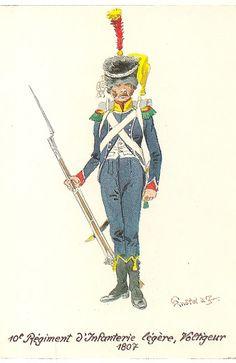 Volteggiatore del 10 rgt. di fanteria leggera