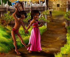 Shanti naked book mowgli and jungle