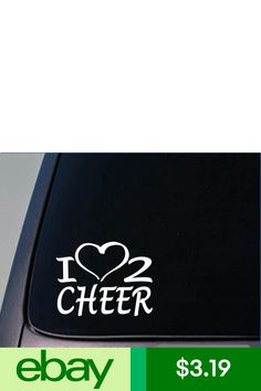 Ezstik Statement Stickers & Decals Home & Garden Cheerleading Quotes, Cheerleading Shirts, Shirts For Teens, Dad To Be Shirts, Drilling Rig, Disc Golf, Shirts With Sayings, My Heart, Decals