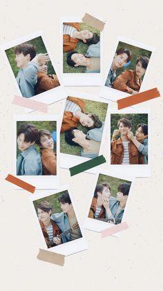 Bright Wallpaper, Couple Wallpaper, Trendy Wallpaper, Cute Wallpapers, Bright Pictures, Baby Pictures, Handsome Anime Guys, Handsome Boys, Korean Best Friends