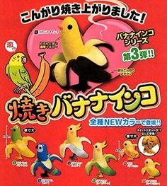 Baked Banana Parakeet 7 Pics Epoch Gacha From Japan #BakedBananaParakeet