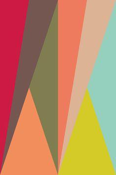 MAX BILL'S SAN LAZZARO (COVER VERSION) pastel geometric shapes