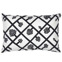 Marimekko's Spaljé cushion cover, grey