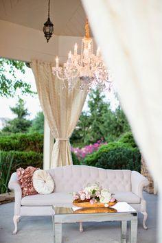 Shabby Chic Meets French Country Wedding Setup ~ Watson-Studios | bellethemagazine.com