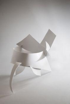 paper sculpture, paper, sculpture, ntu, adm, artcard, slits, project, white,3d, planes