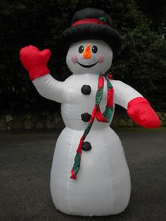 christmas 8 inflatable snowman home accents yard decoration display