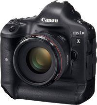 """De EOS-1D X combineert snelheid met beeldkwaliteit en is daardoor de nieuwste generatie camera voor professionals. De 18-Megapixel volbeeld-sensor met twee """"DIGIC 5+""""-processoren stelt de norm, en het maken van opnamen tot 12 fps gaat nog verder."""