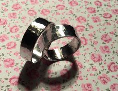 Excited to share this item from my #etsy shop: Hammered Aluminium Rings,Hammered Jewellery,Aluminium Jewellery,Christmas Gift Ideas,Gift ideas,For her,Rings,Jewellery,Birthday,High Shine Jewelry Rings, Jewellery, Cufflinks, Christmas Gifts, Etsy Shop, Gift Ideas, Sterling Silver, Birthday, Accessories