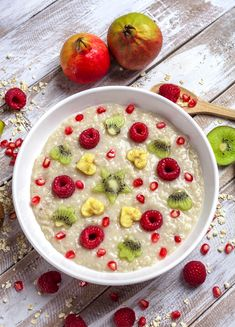 View top-quality stock photos of Two Glasses Of Chia Pudding With Heartshaped Kiwi Slices And Pomegranate Seed On Tray. A Food, Food And Drink, Coconut Health Benefits, Grain Foods, Eat Smart, Chia Pudding, Eat Right, Different Recipes, Sweet Recipes