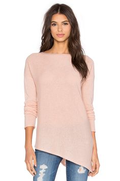 360 Sweater Perry Crew Neck Sweater in Cameo
