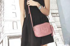 Gucci Disco for sale Gucci Disco Bag, Soho Disco Bag, Gucci Soho Disco, Gucci Handbags, Designer Handbags, Leather Handbags, Leather Bag, Gucci Brand, How To Make Handbags