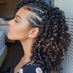 Natural Protective Style for Summer Protective Styles for Black Women naturalcur. - Natural Protective Style for Summer Protective Styles for Black Women naturalcurlyhairstyles - Natural Curls, Natural Hair Care, Curly Natural Hair Styles, Natural Hair Styles For Black Women, Black Women Hair, Straw Set Natural Hair, Black Women Braids, Roller Set Natural Hair, Natural Hair Twists