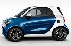La próxima generación de Smart Fortwo y Forfour.   Cada coche ofrece energía de la impulsión en 45 k W/60 hp, hp kW/71 52 y 66 kW/90 CV mientras que la transmisión se realiza por transmisión manual de 5 velocidades o la otra opción para utilizar la transmisión de doble embrague automático twinamic. Tuvie | http://www.tuvie.com
