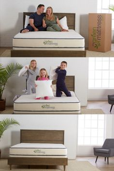 Hope All-Latex, Spring-Free Organic Mattress by My Green Mattress Wool Quilts, Cotton Quilts, Flame Test, Healthy Nights, Latex Mattress, Rubber Tree, Bed Base, Dust Mites
