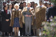 Charles and Camilla prince Turangawaewae Marae in Waikato, November 8, 2015