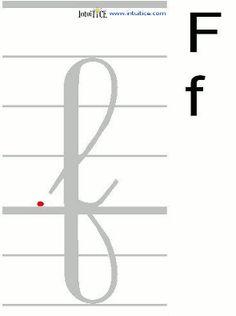 gif animé avec sens de l ecriture French Cursive, Gif Animé, Gifs, Letters, Learning, School, Homeschool, Cursive Alphabet Letters, Letter Templates