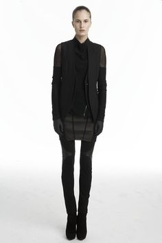Helmut Lang Fall 2009 Ready-to-Wear Fashion Show - Alla Kostromichova