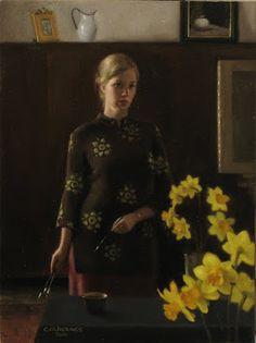 "Cornelia Hernes ""Spring Self Portrait"" 2010 location unknown"