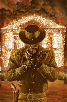 Django | Alex Ross - Follow Artist on Facebook // Twitter    D-J-A-N-G-O. The D is silent.