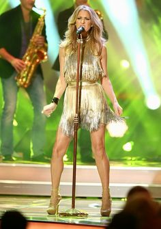 Celine Dion ~ Was lucky enough to see her performing live at Caesar's Palace in 2005. Amazing!!!!! :D