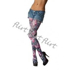 Flirt - Nevi Love Tights, 8,90€