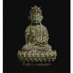 A FINELY CAST BRONZE FIGURE OF GUANYIN<br>MING DYNASTY, 17TH CENTURY | Lot | Sotheby's