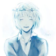 Shingeki no Kyojin, Armin Arlert, Flower Crown, Blue