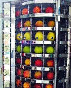 Een gezonde snoep automaat.......snoep verstandig, eet een appel en.......het is gezond ♥
