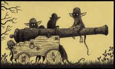 John Kenn Post it monsters