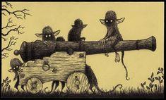 John Kenn Post it monsters