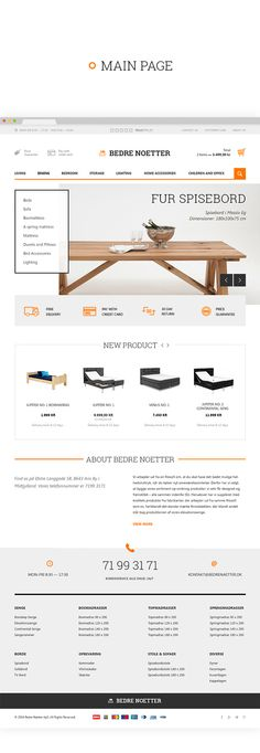Bedrenaetter.dk by BASOV DESIGN BUREAU, via Behance