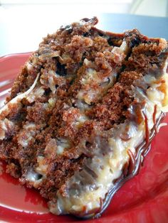 Best Ever German Chocolate Cake – Rich, moist chocolate cake with smooth and creamy caramel like pecan and coconut frosting.