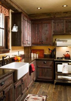 I love the wood on the cabinets