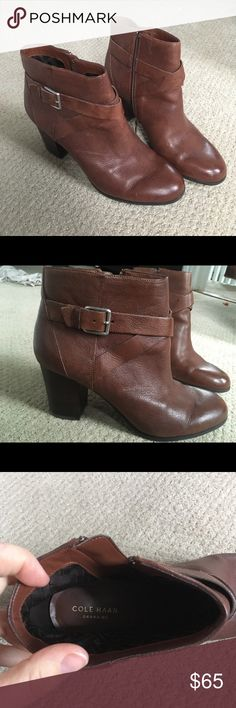 Spotted while shopping on Poshmark: Cole Haan booties! #poshmark #fashion #shopping #style #Cole Haan #Shoes