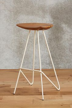 Anthropologie Perch Barstool