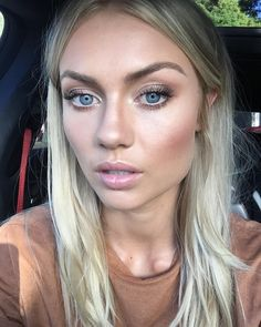 """10.1k Likes, 80 Comments - Elyse Knowles (@elyseknowlzy) on Instagram: """"New obsession , perfecting eye lashes @ulta3 volume and curl mascara is my go to for shizzleeee…"""""""