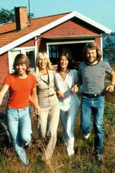 """Anna and Björn bought a summer cottage here in 1971, followed in 1974 by Benny and Frida. Stikkan bought a house on the island in the early 1970s. The three families spent every free moment in between promotion tours and studio sessions to relax and to work on new songs. The first Viggsö composing session stock late 1972.Björn and Benny had received an invitation to write an entry for the Swedish melodifestivalen.""""Ring Ring""""was written with piano and guitar in the tiny cottage on the island."""