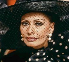 "Sophia Loren en ""Pret-a-porter"", 1994"