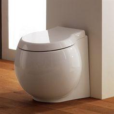 Toilet Ball on the Floor Gulvmodel