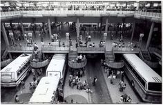 Primeira Estação Rodoviária de São Paulo foi construída na gestão de Adhemar de Barros - Acervo/Estadão