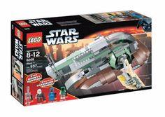 Lego Sealed Set 6209 Star Wars Slave Boba Fett Ship Bespin IG-88 Dengar Mini Fig #LEGO