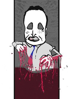 Mike Nicholls zombie David Cameron