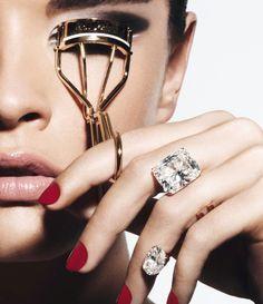 Crystal Renn. Photo: Thomas Lagrange for Vogue Paris, October 2013. Diamonds by Repossi.