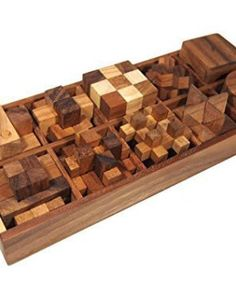 10-of-3d-wood-puzzles-brain-teasers-game-in-wooden-box-set-0