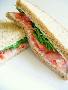 good old fashioned tomato sandwich...