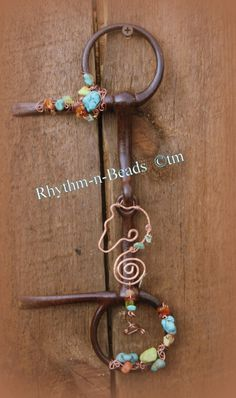 Rhythm-n-Beads ~Bit Bling~ collection is vintage horse bits that have been upcycled into equine wall art pieces www.facebook.com/rhythmbeads www.rhythm-n-beads.com