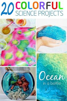science experiments for kids - 20 colorful science experiments kids will enjoy!