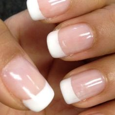 Gel French Tip nails by Sonny (I believe that was his name).   Yelp