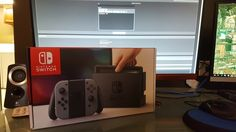 "A Switch has made it out into the wild brings first look at eShop with it   Someone on NeoGAF claiming to just be ""lucky"" has received a Switch. We don't believe it's a press person as the person posting doesn't have any games to try out. He also says he got it early from a retailer. Keep an eye on the madness here.  from GoNintendo Video Games"